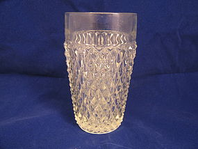 Indiana Glass Diamond Point Tumbler