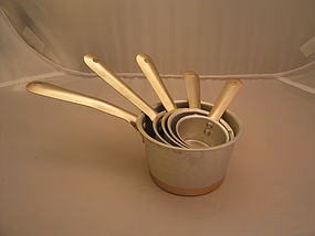 Vintage Aluminum Measuring Cups SOLD