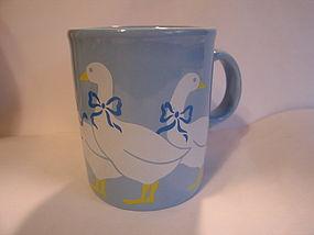 Blue Geese Goose Mug