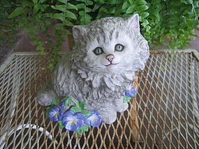 Nancy Matthews Purrfection Cat Figurine