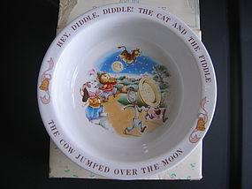 Avon Baby's Keepsake Mother Goose Bowl
