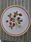 Strawberries 'n Cream Luncheon Plate