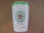 Lefton Rose Bathroom Tumbler