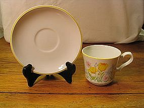 Johnson Brothers Spring Day Cup and Saucer