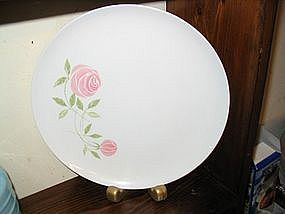 Franciscan Pink-A-Dilly Plate  UNAVAILABLE