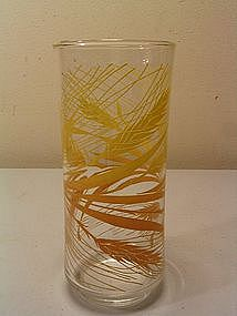 Libbey Golden Wheat Glass SOLD