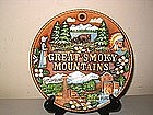 Souvenir Smoky Mountains Plaque