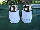 Corelle Snowflake Blue Salt & Pepper Shakers