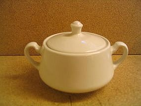 Homer Laughlin White Sugar Bowl