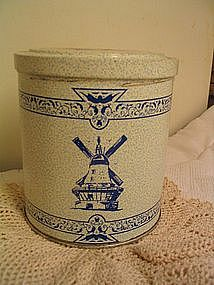 Delft Cookie Tin