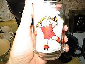 Cabbage Patch Kids Glass