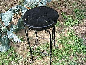 Vintage Wrought Iron Stool