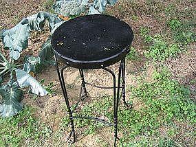 Vintage Wrought Iron Stool