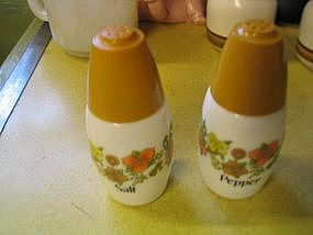 Corelle Indian Summer Salt and Pepper Shakers