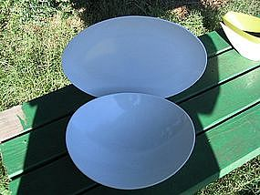 Prolon Melmac Platter and Vegetable Bowl