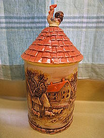 Rooster Canister