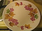 Iroquois China Grapes  Plate