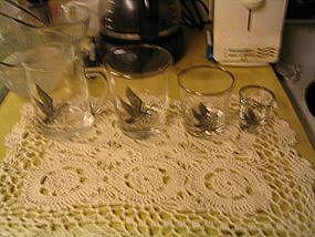 Canadian Goose Glassware