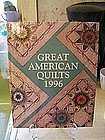 Oxmoor Press Great American Quilts 1996