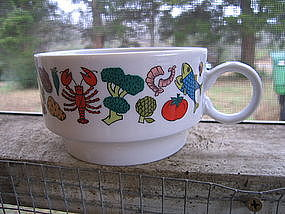 Japan China Nantucket Mug