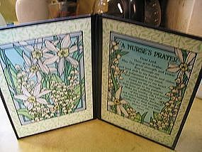 Stained Glass Nurse's Prayer SOLD