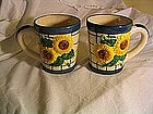 Sunflower Mugs