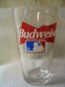Budweiser Atlanta Braves Glass