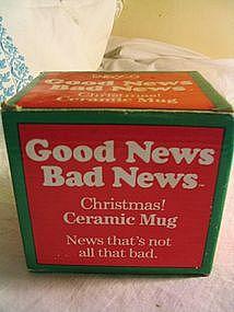 Enesco Christmas Mug