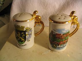 Heidelberg Salt & Pepper Shakers