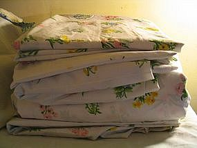 Utica  J.P. Stevens Botanical Sheets & Pillowcases