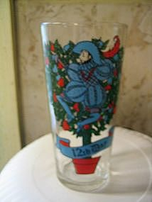 12 Days of Christmas Glass 12th Day
