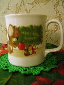 Vintage Teacher's Christmas Mug