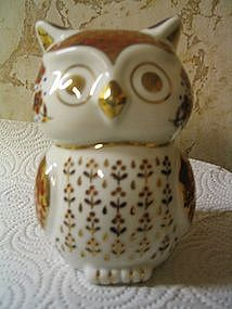 Porcelain Imari Owl