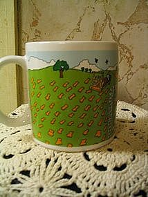 Hickory Farms Homestead Collection Mug