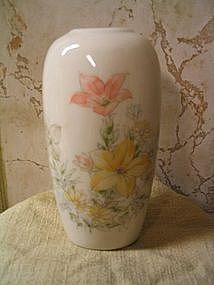 Porcelain Iris Vase