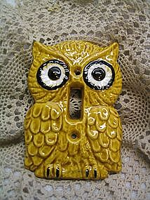 Owl Switch Plate