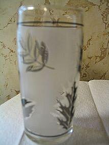 Libbey Silver Leaf Glass