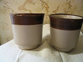 Pacific Stoneware Cups
