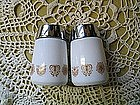 Corelle Butterfly Gold Salt & Pepper Shakers