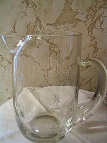Vintage Martini Pitcher