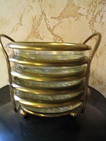 Brass & Crystal Coaster