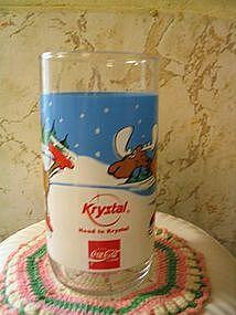 Krystal Bullwinkle Glass