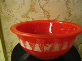 Pyrex Christmas Bowl