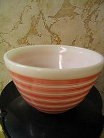 Pyrex Pink Stripe Bowl