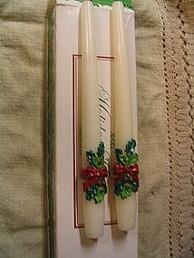Avon Christmas Candles