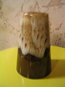 Brown Drip Pepper Shaker