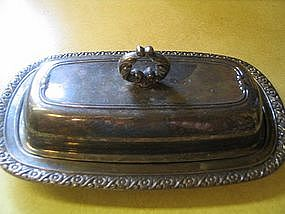 Oneida Silver Butter Dish