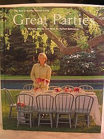 The Best of Martha Stewart Living Great Parties