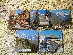 Switzerland Coasters