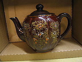 Vintage Brown Teapot
